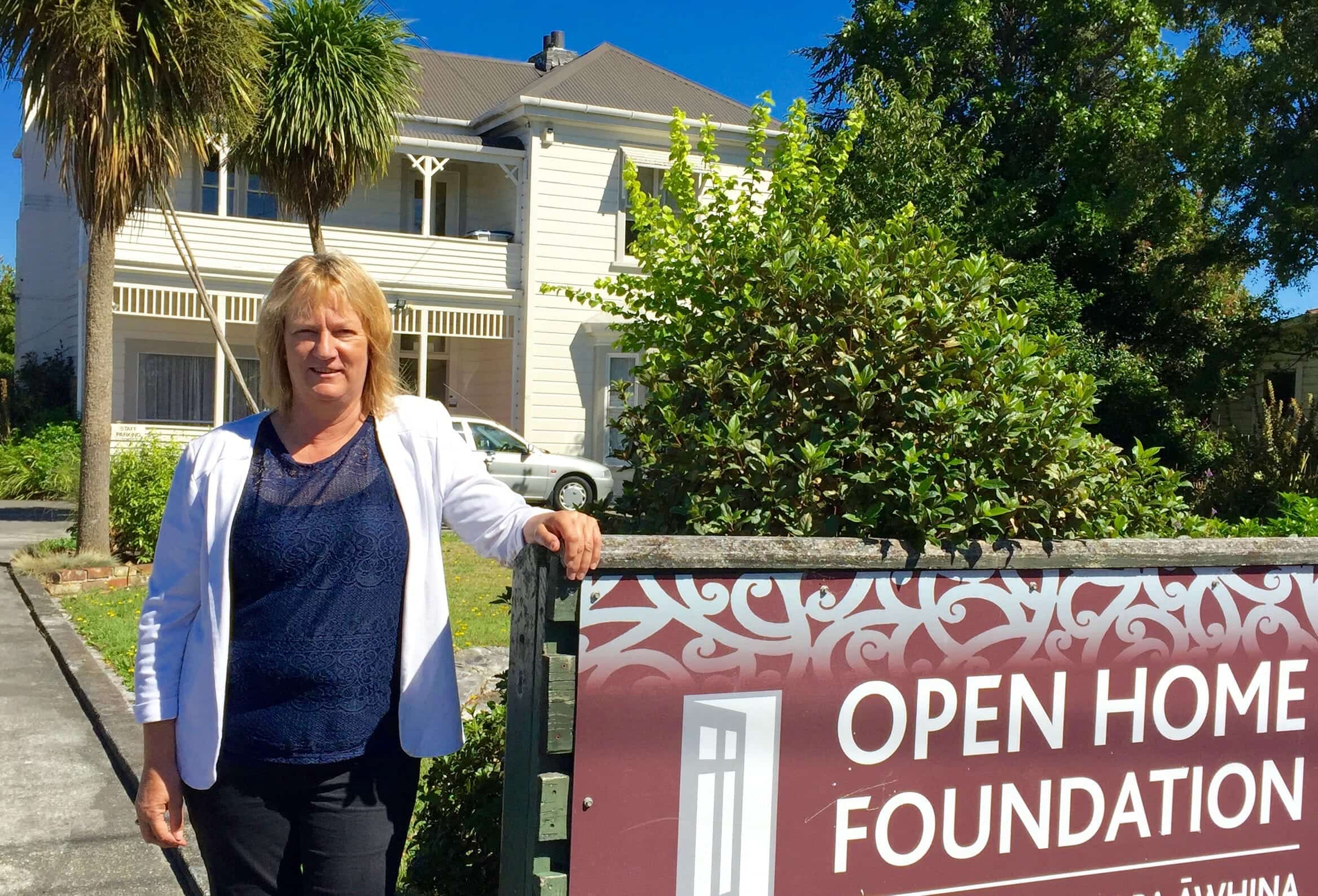 Jean Kawana, Open Home Foundation Masterton manager.