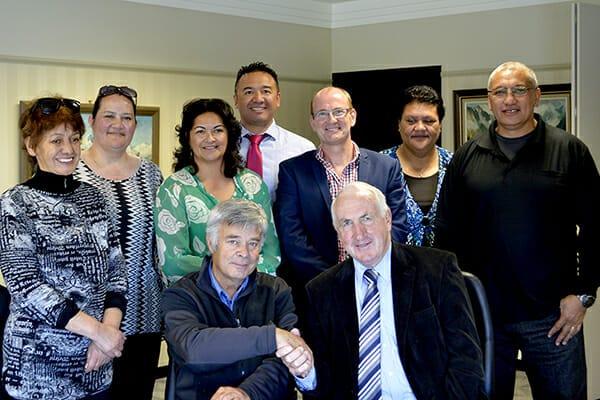 Tauranga and Masterton sign agreement on social housing
