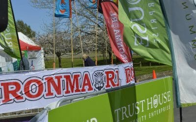 Trust House Supports IRONMĀORI