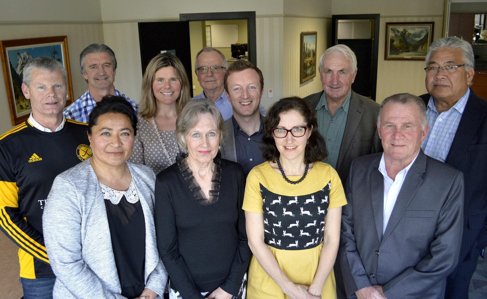 Masterton Community Trust and Grant recipients Oct 2016