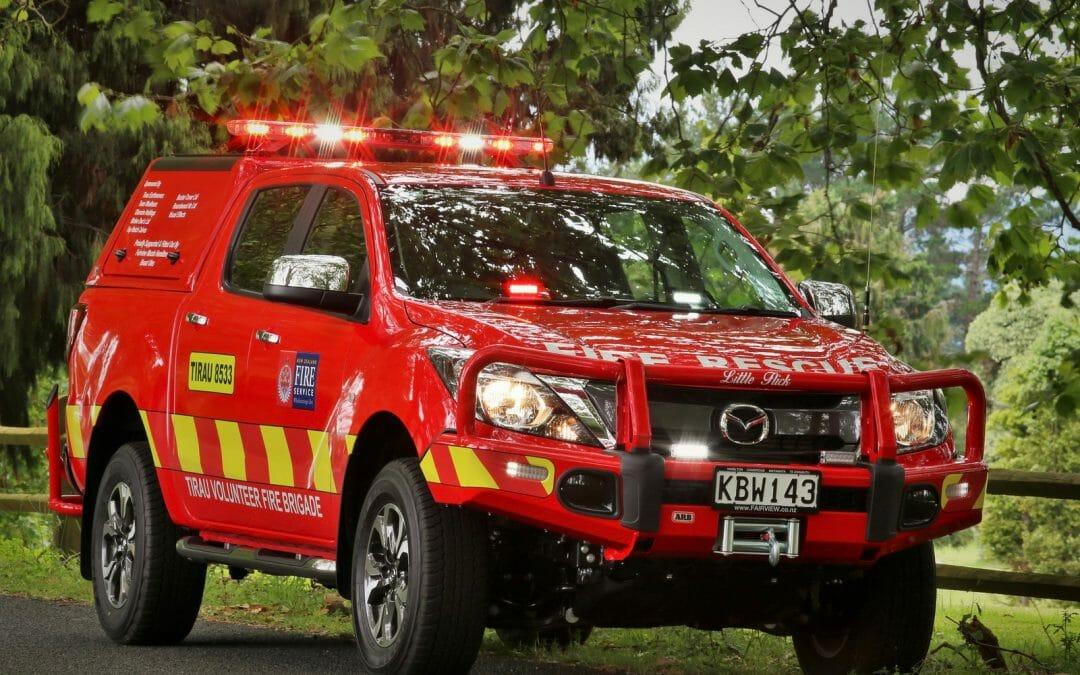 Martinborough Volunteer Fire Brigade's new rapid response