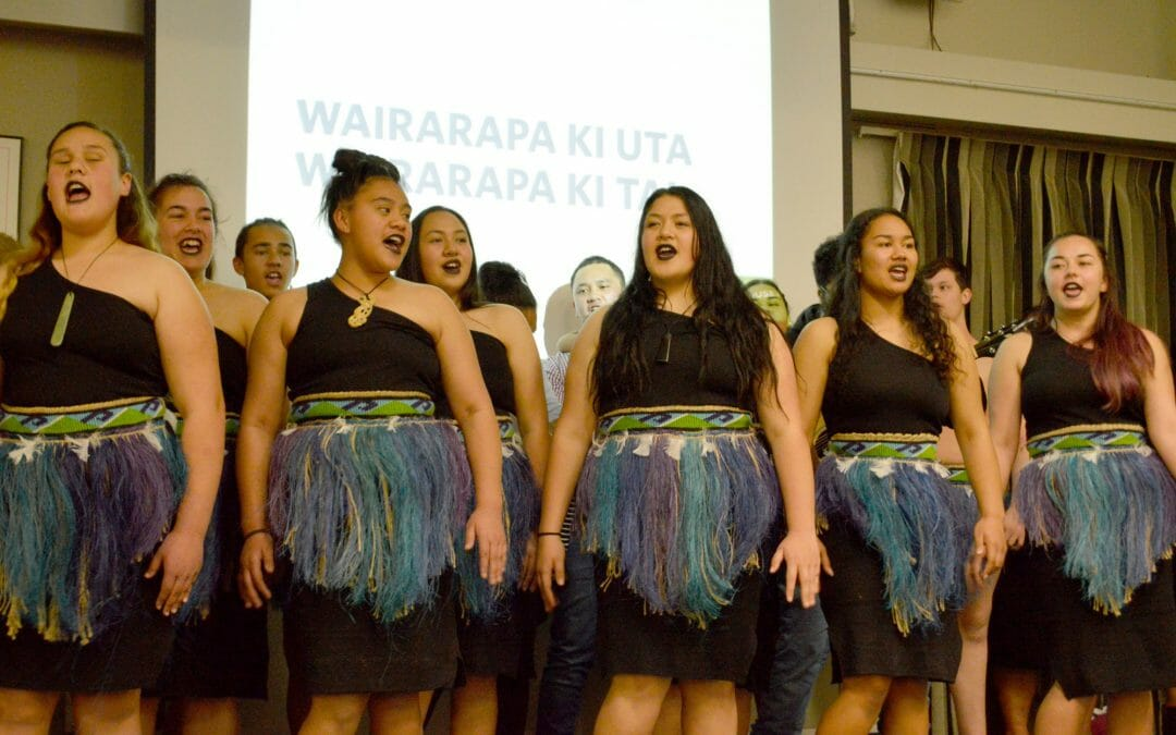 Wairarapa Ki Uta, Wairarapa ki Tai at the Trust House Foundation grant evening