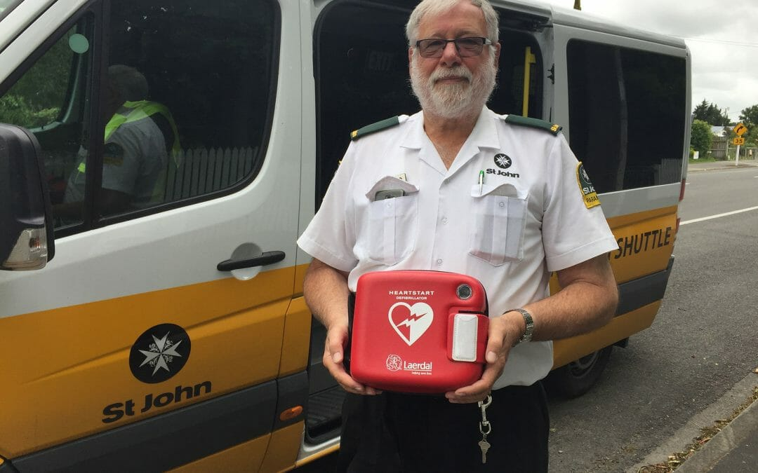 Easy to use defibrillators a life saver