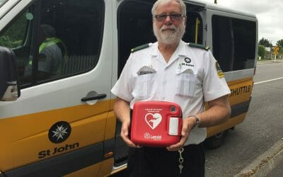Easy to use defibrillators a life saver