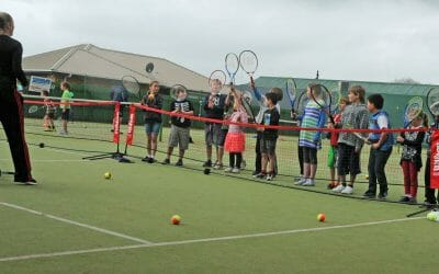 Trust House helps serve up new courts