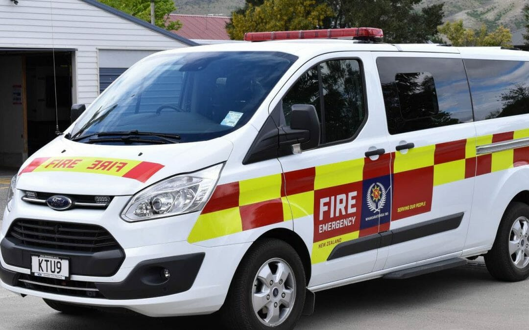 New wheels for Greytown Volunteer Fire Brigade