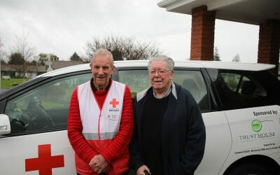 New Zealand Red Cross Community Transport Wairarapa – an essential service