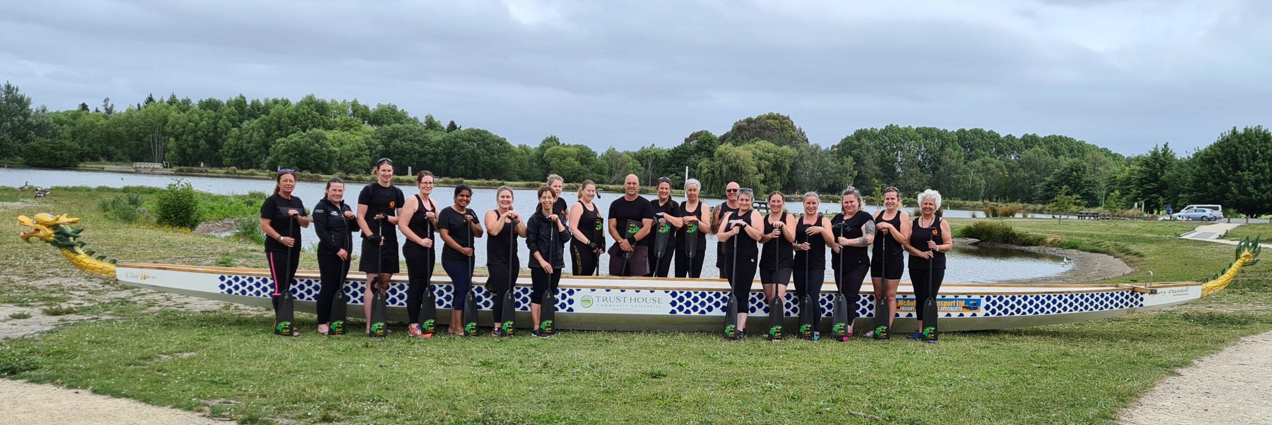 The Wairarapa Dragon Boat Club