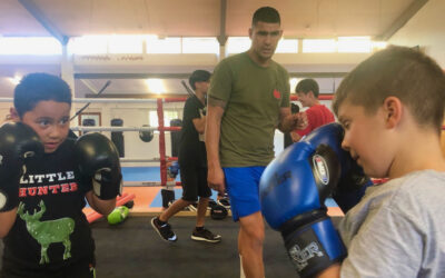 Boxing Academy giving youth a fighting chance